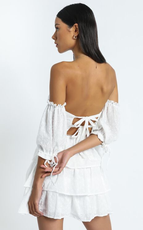 Ora Dress In White