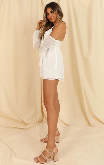 We Love Without Reason Playsuit in white - 20 (XXXXL), White, hi-res image number null