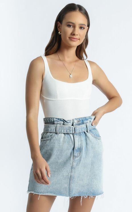Tia Bodysuit in White
