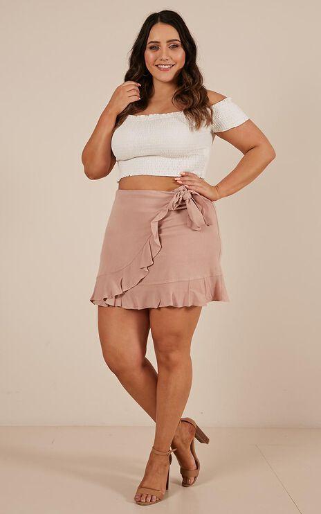 All The Lovers Skirt In Mocha