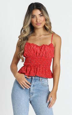 Timeless Top in Red
