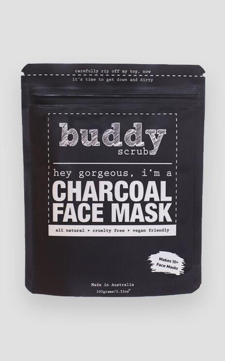 Buddy Scrub - Activated Charcoal Face Mask
