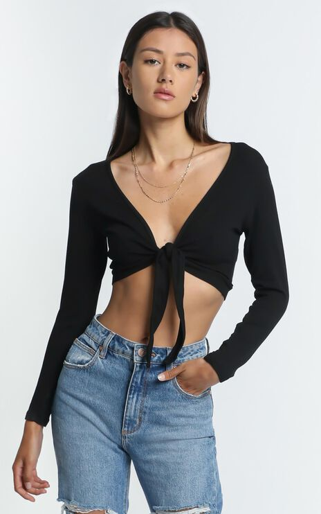 Karson Top in Black