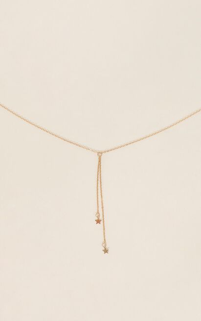 Run With Me Necklace In Gold, , hi-res image number null