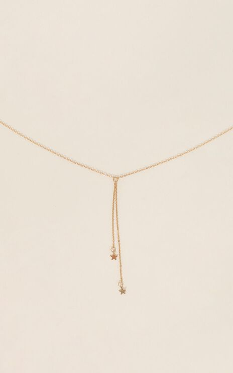 Run With Me Necklace in Gold