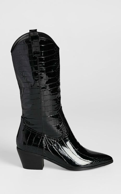 Billini - Havoc Boots in Black Croc