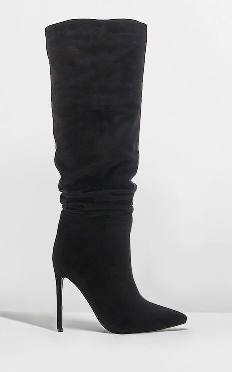 Billini - Natasha Boots In Black Micro