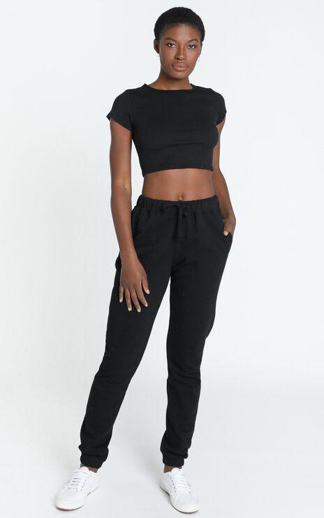 AS Colour - Surplus Track Pants in Black