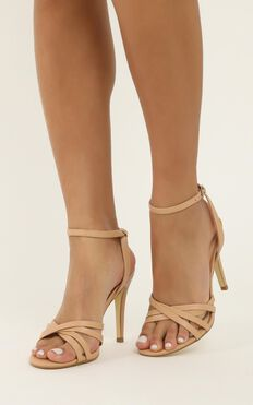 Verali - Olsen Heels In Nude Smooth