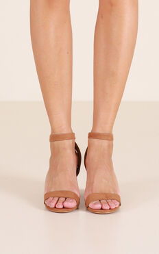 Billini - Carlina Heels In Tan Micro