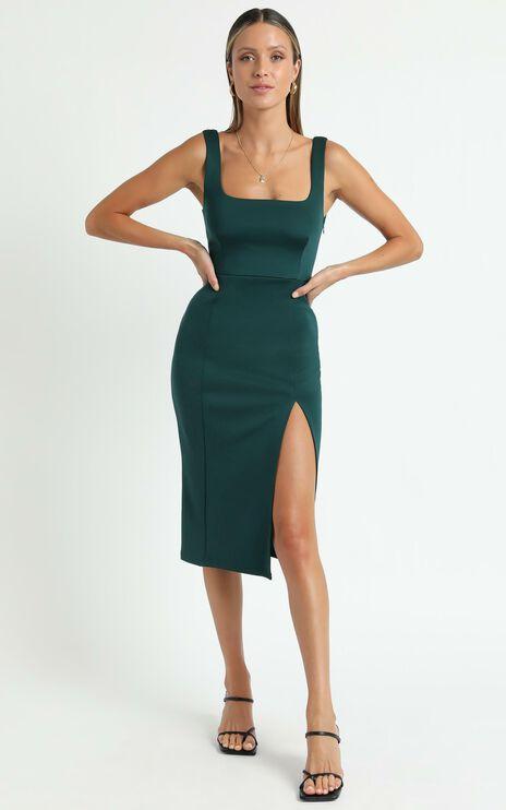 Mini Love Dress in Emerald