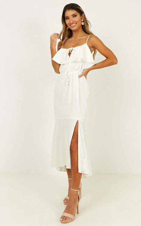 Inner Pride Dress In White