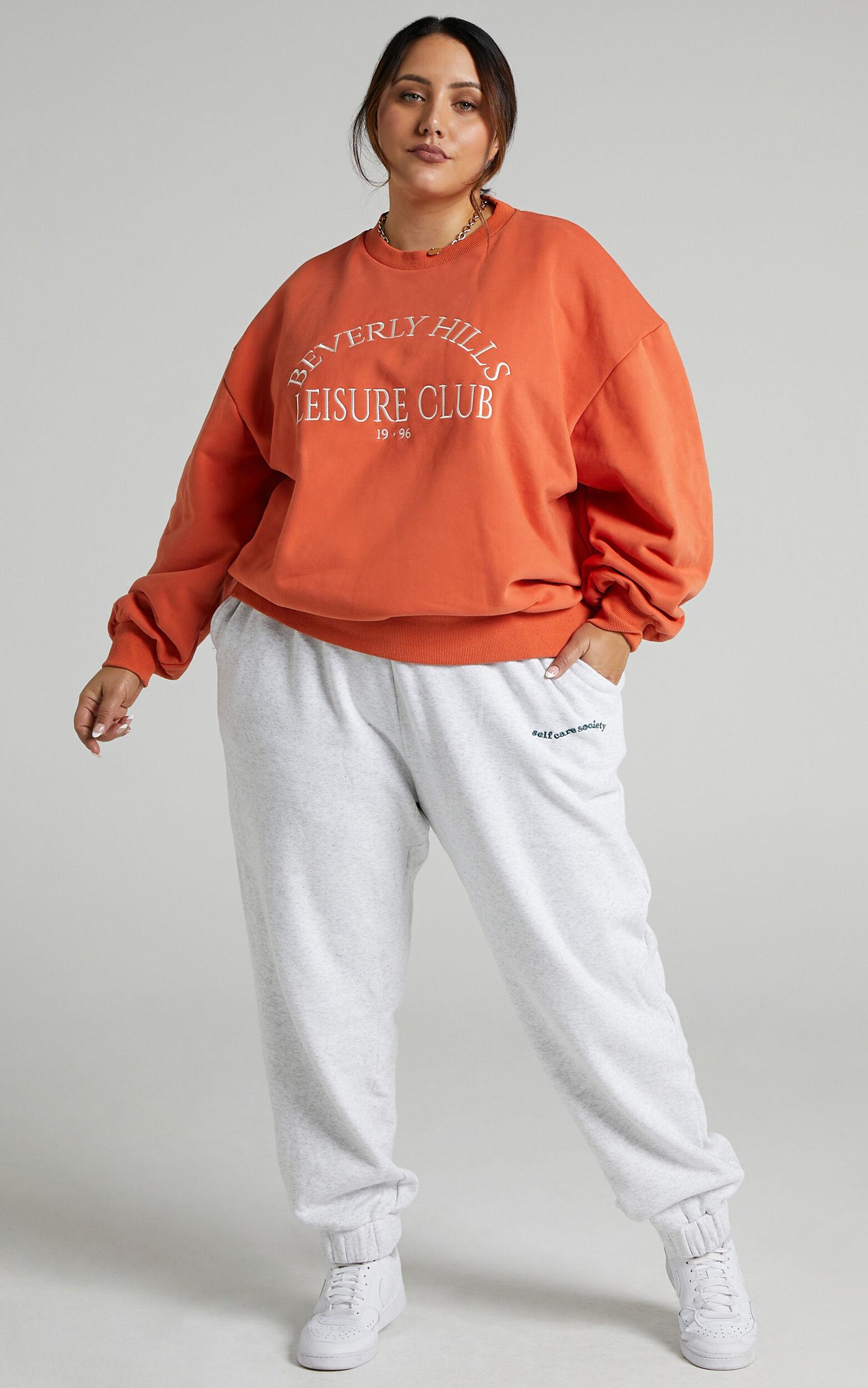 Sunday Society Club - Junno Sweatshirt in Orange - 04, ORG1, super-hi-res image number null