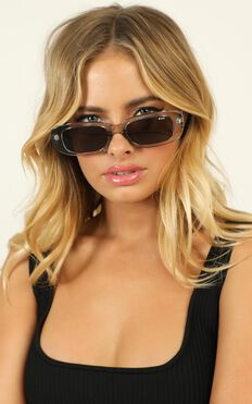 Roc - Creeper Sunglasses In Crystal Grey