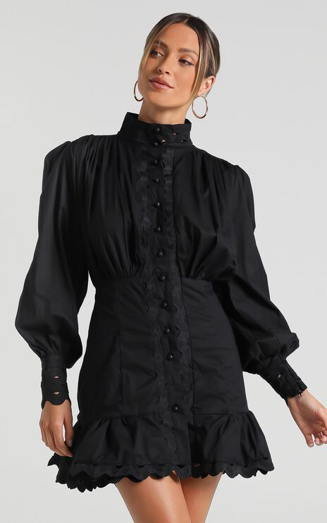 Ferguson Dress in Black