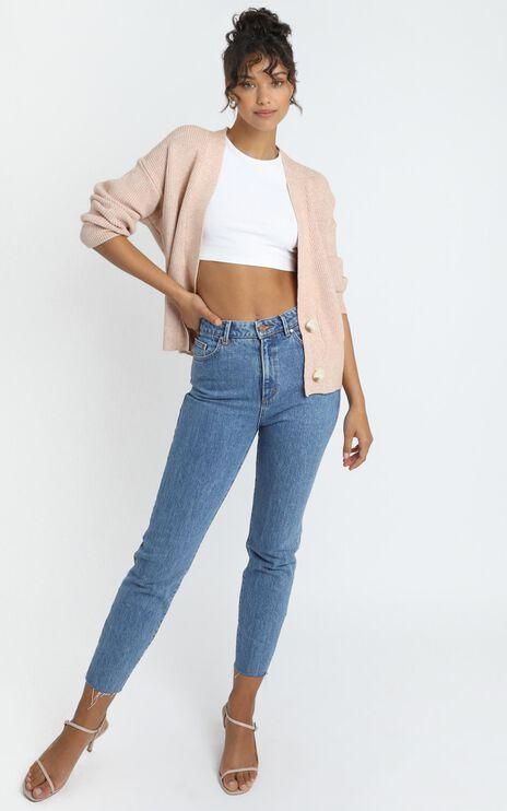 Original Trendsetter Knit Cardigan in Blush