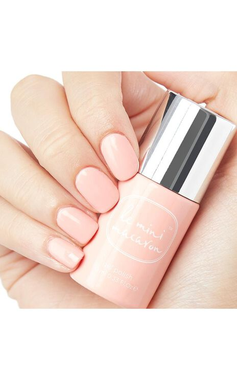 Le Mini Macaron - Gel Manicure Kit in Rose Creme