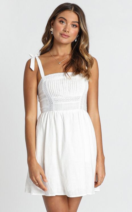 Hawaii Dreaming Dress In White