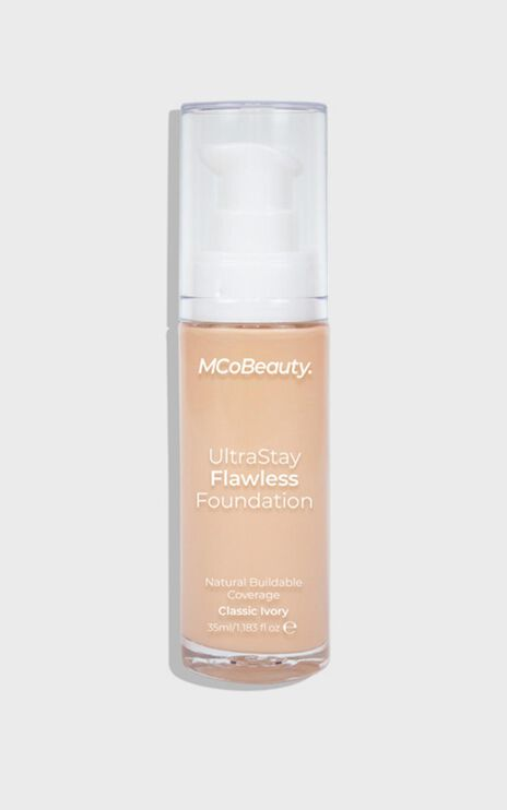 MCoBeauty - Ultra Stay Flawless Foundation - Classic Ivory