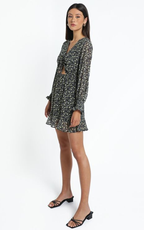 Farrow Dress In Black Print