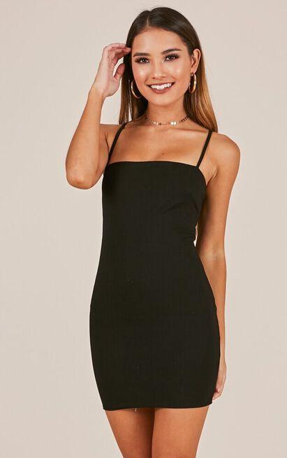 Blissful Innocence dress in black - 12 (L), Black, hi-res image number null