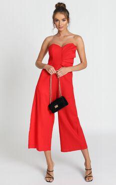 Sasha Jumpsuit In Red