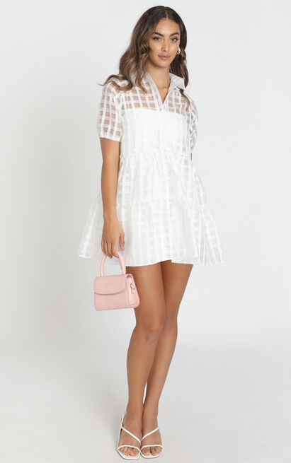 Bold Courage dress in white - 6 (XS), White, hi-res image number null