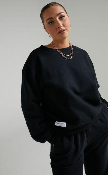 Sunday Society Club - Beanca Sweatshirt in Black