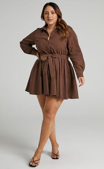Ciri Dress in Chocolate