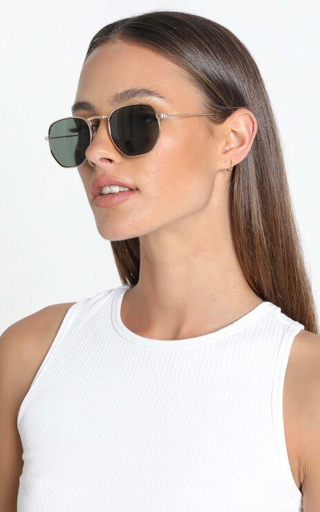 Allure Sunglasses in Gold