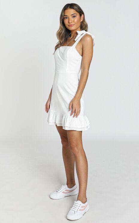 Coastal Getaway Dress In White