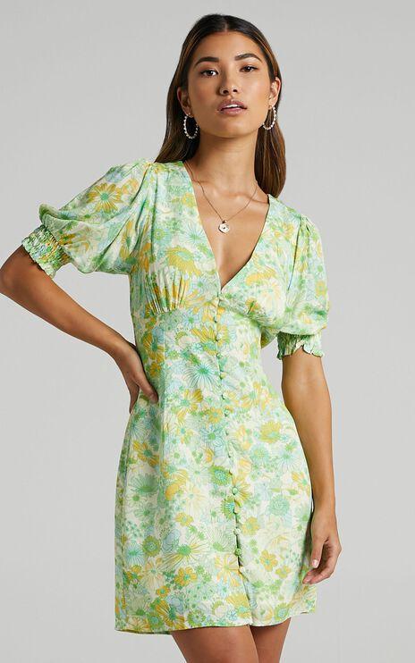 Feronia Dress in Fresh Floral