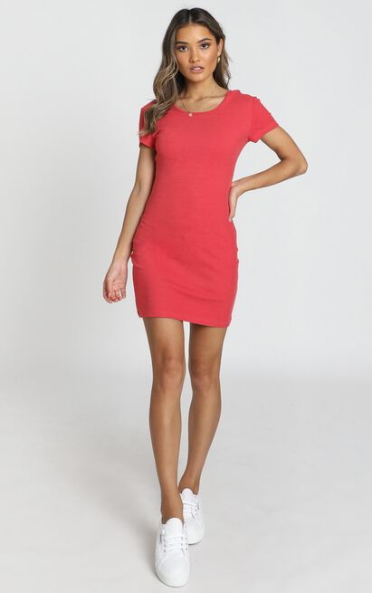 Love Songs Dress in coral - 14 (XL), Pink, hi-res image number null