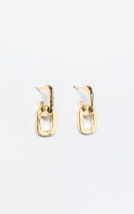 Harvey Earrings in Gold