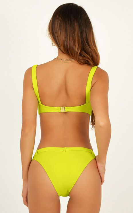 Nora Bikini Bottom In Lime