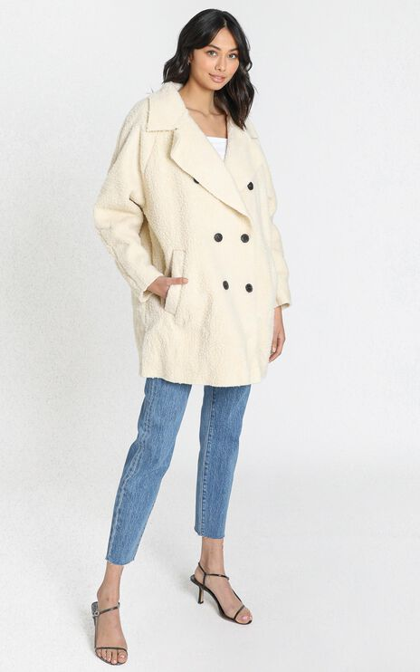 Rebekah Coat in Cream