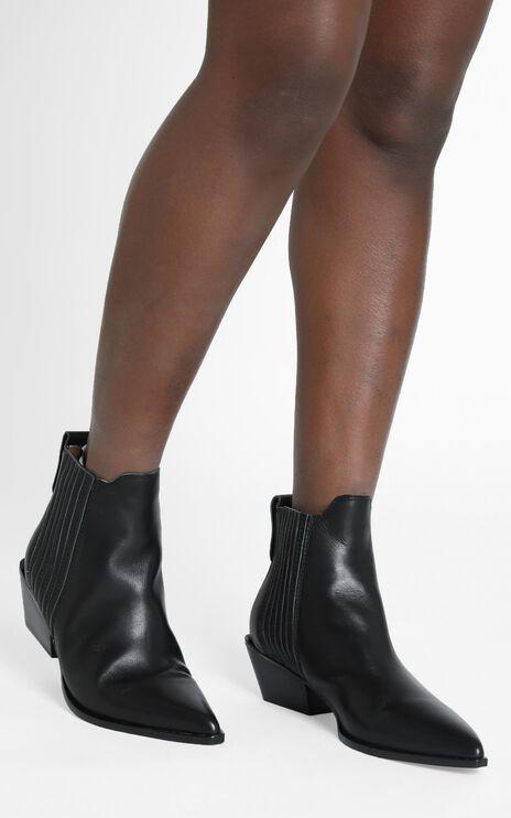 Alias Mae - Seth Boots in Black Burnished