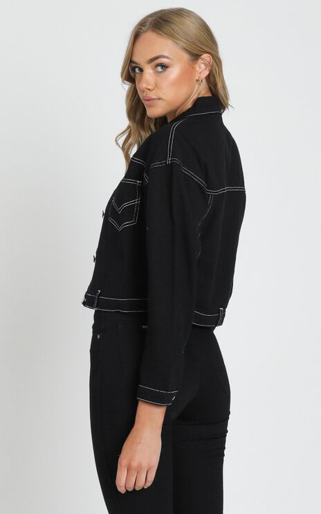 More The Merrier Jacket in Black