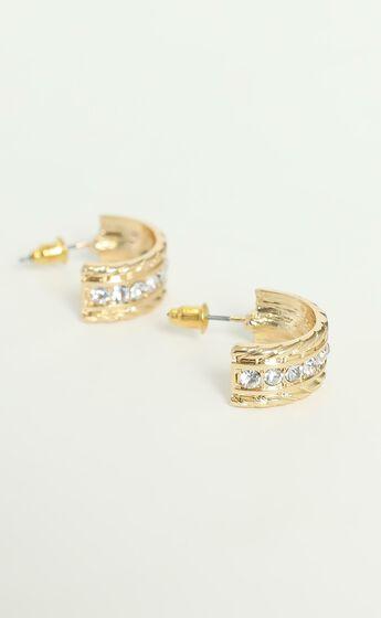Suzannah Hoop Earrings in Gold