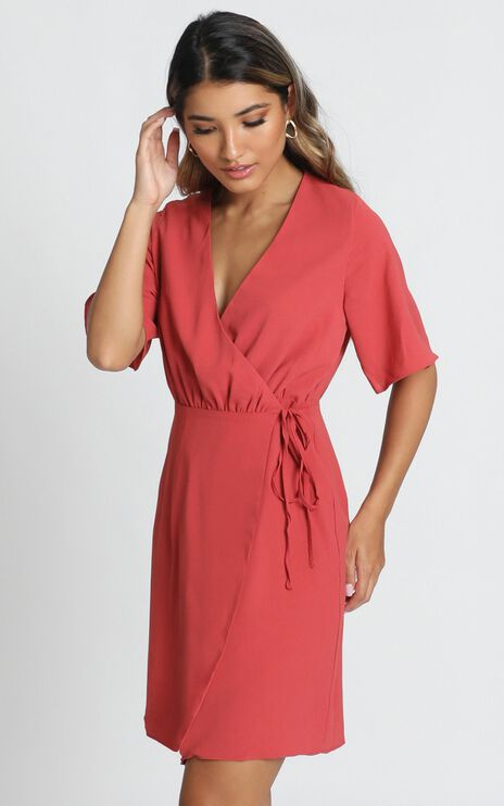 New Memo Dress In Dusty Rose