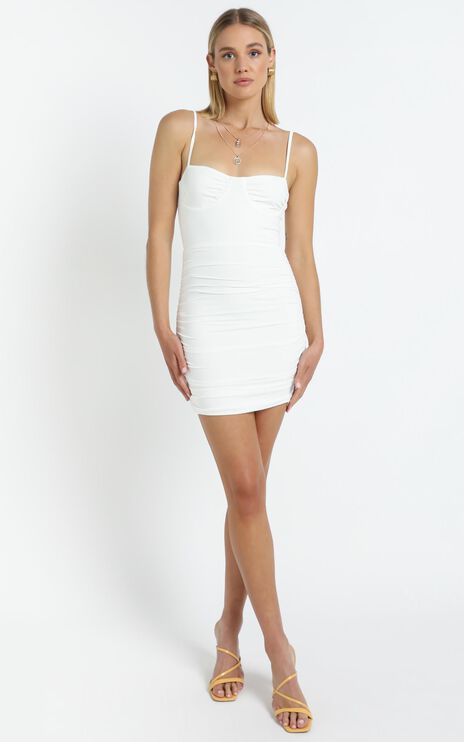 Kimmie Dress in White