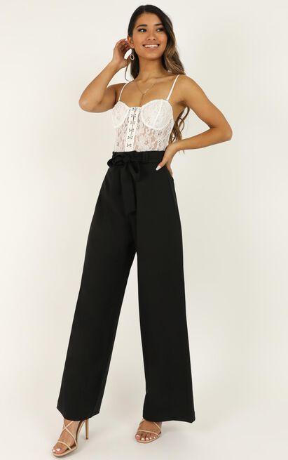Miss Gold Pants in black - 12 (L), Black, hi-res image number null