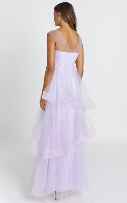San Jose Maxi Dress in Dusty Lavender - 6 (XS), Purple, hi-res image number null
