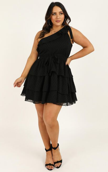 Darling I Am A Daydream dress in black - 20 (XXXXL), Black, hi-res image number null