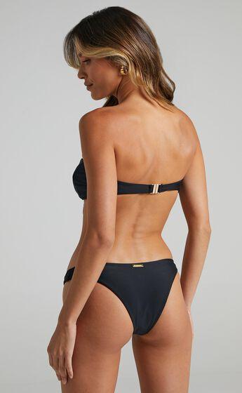 Floriana Bikini Bottoms in Black