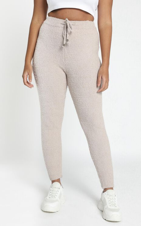 Jesstin Knit Pants in Cream