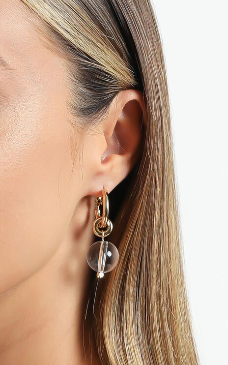 Jolie & Deen - Denise Earrings in Gold
