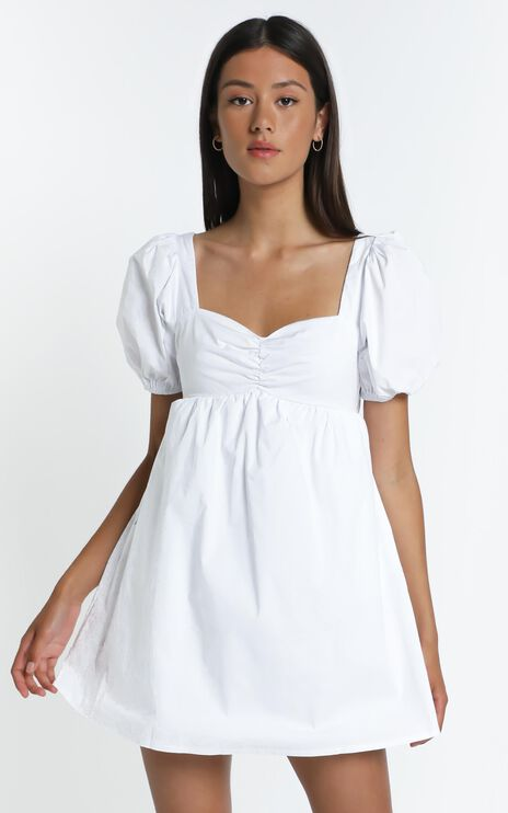 Brene Dress in White