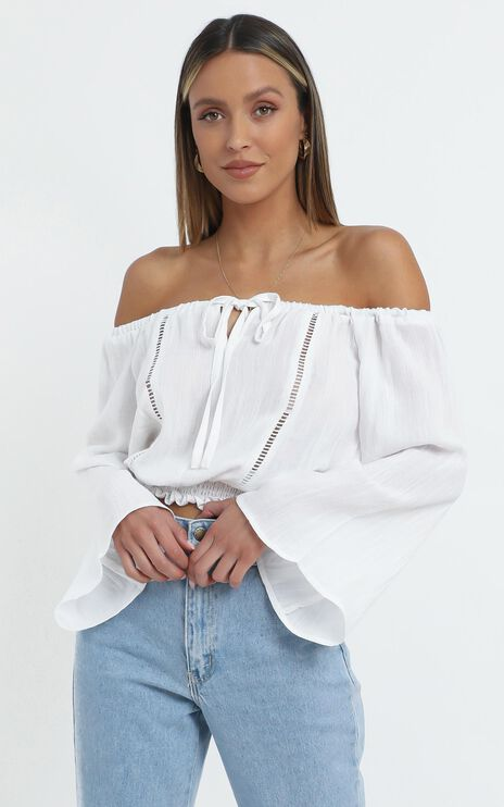 Mckinney Top in White