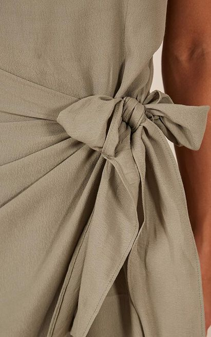 What You Waiting For Dress in khaki - 20 (XXXXL), Khaki, hi-res image number null